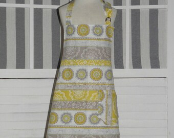 Stripes & Lace Girls Kitchen Apron - FREE or PRIORITY Shipping