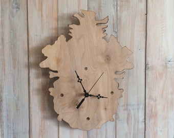 Unique Birdhouse Wall Clock - Birdhouse Decor - Bird Clock - Cool Kitchen Clock - Unusual Clock -  Bird House Wall Decor - Decorative Clock