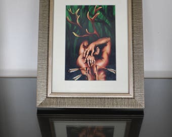 False Prophet: Framed and mounted photographic, archival print