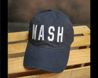 NASH Hat - Nashville - Navy - Tennessee - Music City