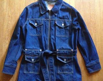 Levis Denim Workwear Jacket Ladies XL