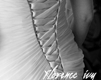 Corset Back Fine Art Wedding Photography 8x10