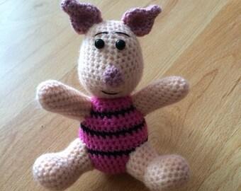 Piglet Crochet Doll