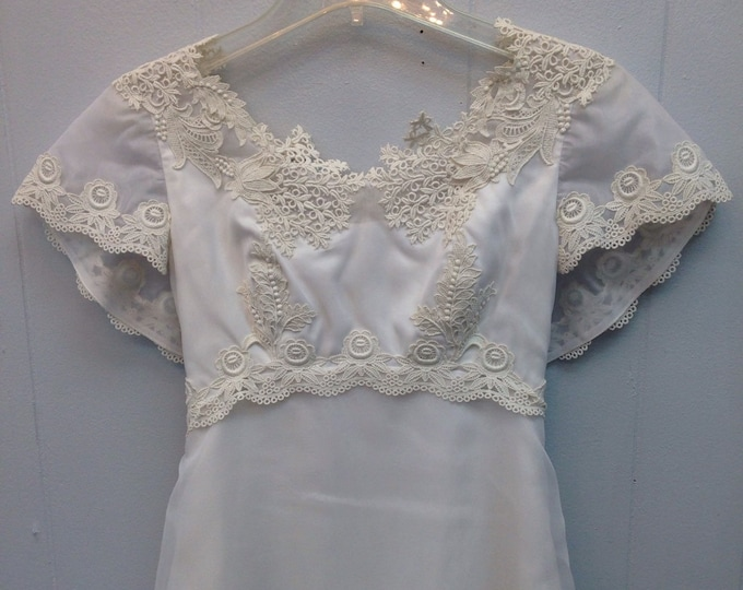 1970 Willam Cahill of California Wedding Dress