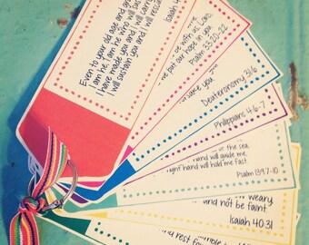 Encouragement Scripture Cards