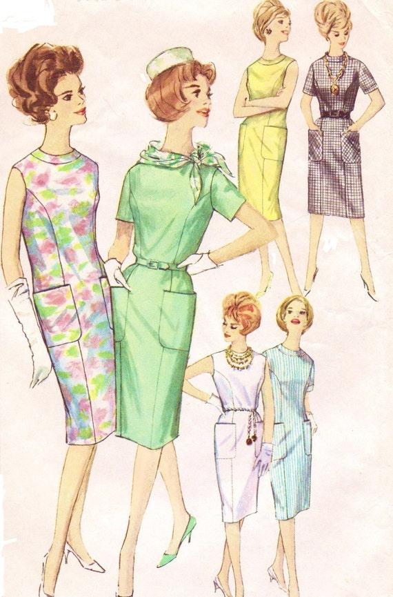 60er Jahre Sommer wackeln Muster Einfachheit Nähen Muster 4382