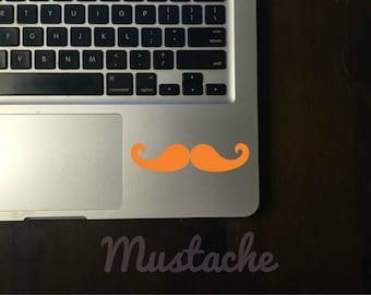 Mustache Decal