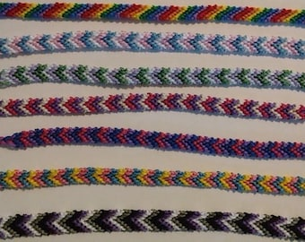 LGBTQ+ Friendship Bracelets