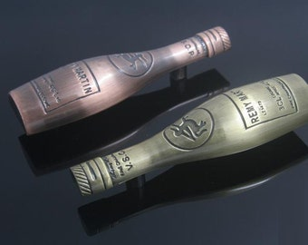 Kitchen Bar Cabinet Handles Pulls Knobs Wine Bottle Antique Bronze / Unique Drawer Pull Handles Knob Decorative Hardware L180