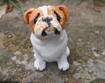 Miniature Sculpture - British Bulldog