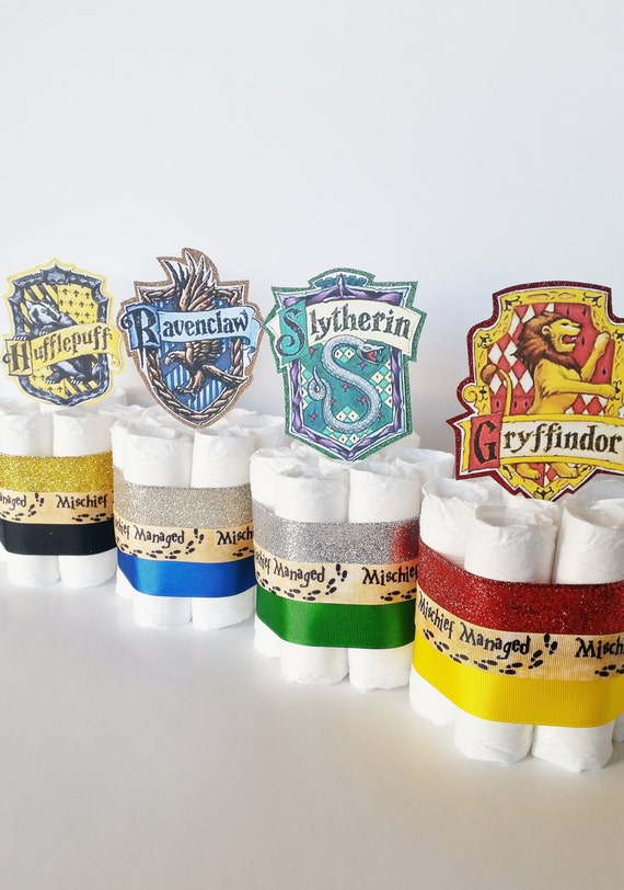 Harry Potter Baby Shower Diaper Cake Centerpieces Harry