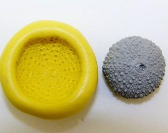 Silicone Flex Mold - 22mm Sea Urchin - Polymer Clay - Handmade