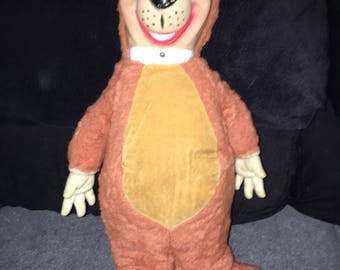 Yogi bear plushie from 1950s