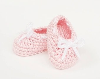Crochet Baby Booties, Pink Newborn Girl Shoes, Princess Shoes, Cute Baby Shoes, Baby Shower Gift, Crochet Newborn Shoes, Reveal Booties