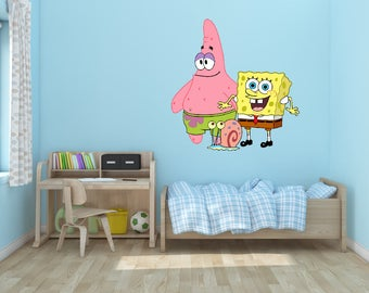 Spongebob Squarepants Vinyl Wall Decal