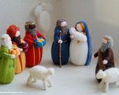 Nativity, Magi, Shepherd,...