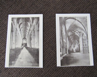 Pair of Vintage Unused Tuck's Post Cards Postcards Free Shipping