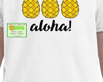 pineapple shirt, personalized pineapple shirt, pineapple shirts, aloha shirt, summer shirt