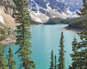 Canada, Banff National Park, Nature, Print, Fine Art, Wall Art, Alberta, Canadian Rockies, Nature Photography, Moraine Lake, Turquoise