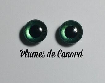 Eyechips 13 mm - Coloris Plumes de Canard  Taille Pullip Modèles Récents