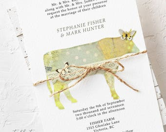 Farm Fabulous - Wedding Invitations (Style 13344)