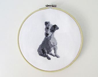 Jack Russell Terrier - Modern cross stitch pattern PDF - Instant download