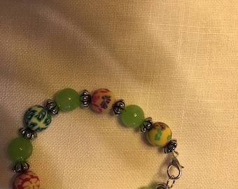Bracelet - think green for Spring!