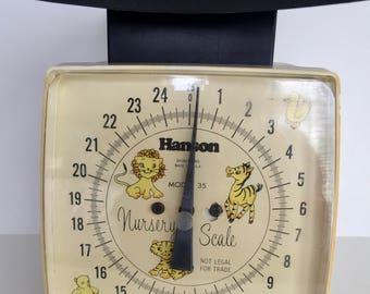 Vintage Hanson Nursery Scale