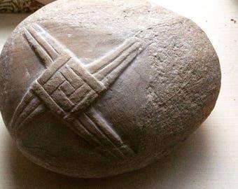 Brigid's Cross in Limestone