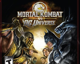 Mortal Kombat vs  DC Universe.