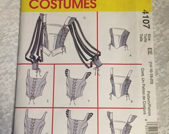 McCalls 4107-Bodice Pattern
