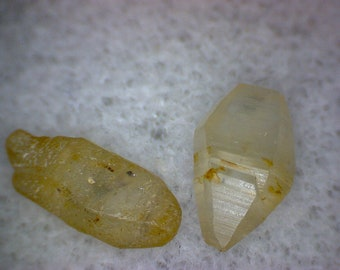 Yellow Sapphire crystals
