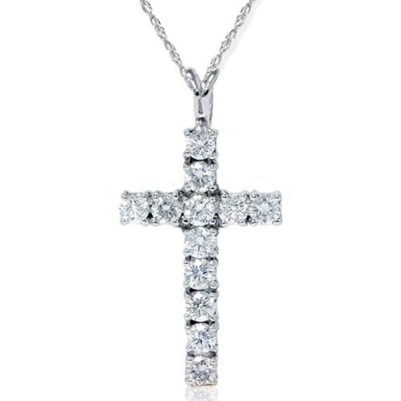 Diamond cross pendant vs 112ct diamond cross pendant 14k like this item aloadofball Image collections