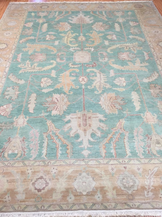 """8'3"""" x 10'8"""" Egyptian Oriental Rug - Hand Made - Antique Look - 100% Wool"""