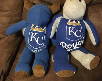 Kansas City Royals Baseball TShirt Moose, Cows and Bears