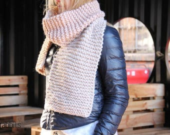 Chunky Scarf/Knitted Scarf/Oversized Scarf/Winter Accessories