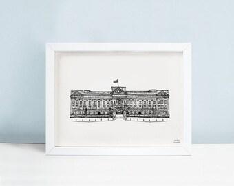Buckingham Palace London - Limited Edition Signed Wall Art Print
