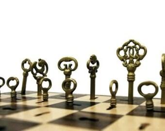 Key chess board