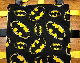 Batman Sensory Blanket