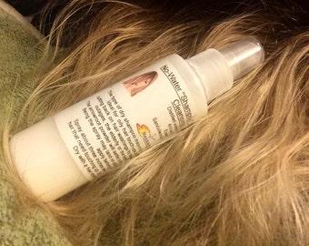 Dry Hair Shampoo, Spray, Deodorizing, No Mess Spray, Camping, Travel, Emergency kit, Touch ups