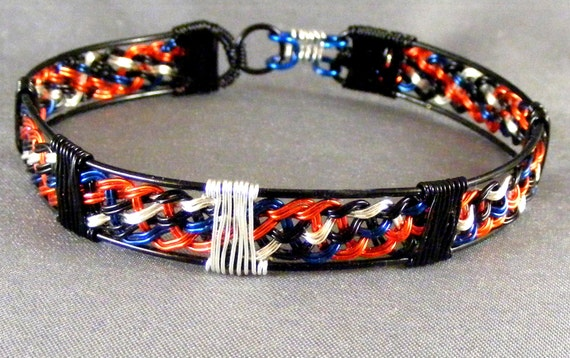Thor Avengers based Woven Wire Bracelet Comic Book Version