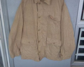 """Vintage Polo Parka Jacket pit 25"""" inches"""