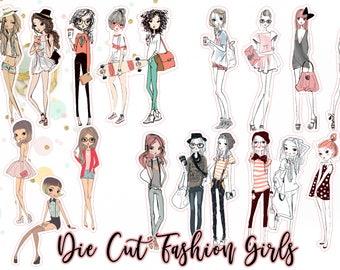 Die Cut Fashion Girls!