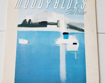Vinyl: The Moody Blues, Sur La Mer, Free Shipping