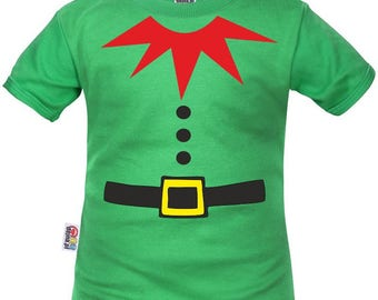 Child's t-shirt: little Christmas Elf