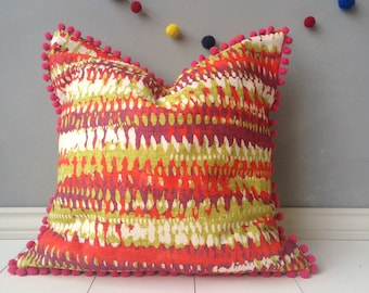 """20"""" kid's room pillow, kids bedroom, bedroom pillow, scatter cushion, play room decor, throw pillow, scatter cushion, floor pillow cover"""