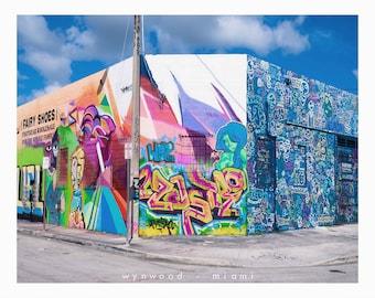 Tattooed Walls Photography Series - Part 3 - Miami Digital Miami Wynwood Graffiti Street Art