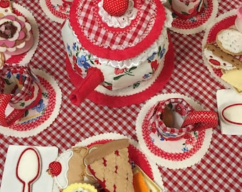 Tea Set for Four, imaginary play