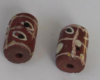 SALE 2 pieces  Venetian AfricanTrade  Good Beads