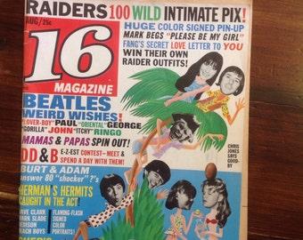 16 Magazine August 1966